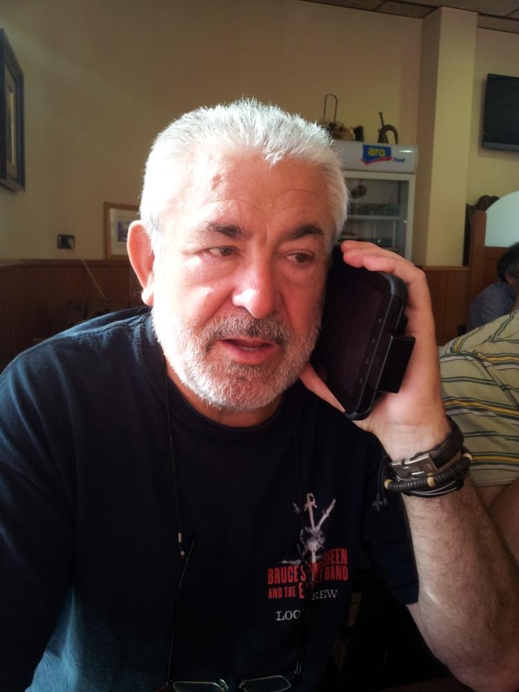 Entrevista a Miguel Tomás president de la Confederació Europea del Taxi(CET)10/10/2013 (1/2)